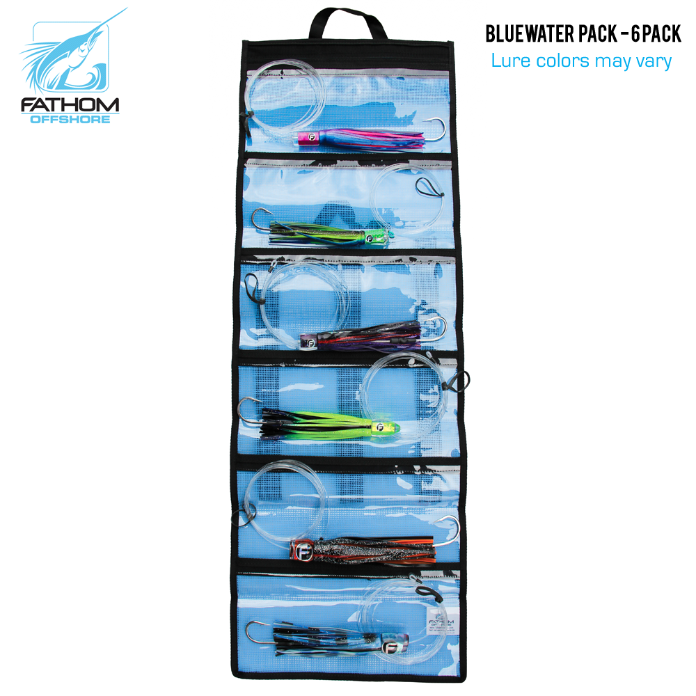 Fathom Bluewater Lure Pack w/ Bag