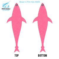 """Fathom Offshore Tuna Flapjack - 18"""" - Pink Holo"""