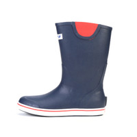 "Xtra Tuff Full Rubber Deck boot 12"" Navy"