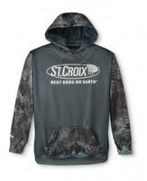 St Croix Men's Kryptek Typhon LS Performance Hoodie - Large