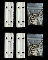 Cooler Shield Replacement Hinge for Igloo Coolers- 4 Pack