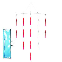 "Fathom Offshore Rigged Squid Spreader Bar 36"" Red w/Blue Dots"