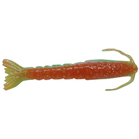 "Berkley Gulp!® Saltwater Shrimp 3"" 6 pack Nuclear Chicken"