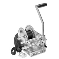 Fulton 2600lb 2-Speed Winch w\/20' Strap