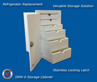 Deep Blue Marine Tackle Storage Locking DRW-6-L
