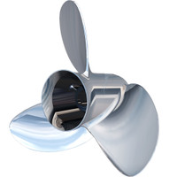 "Turning Point Express Mach3 OS Left Hand Stainless Steel Propeller - OS-1617-L - 15.6"" x 17"" - 3-Blade"