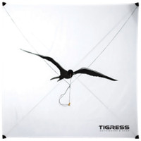 Tigress Specialty Lite Wind Kite - White