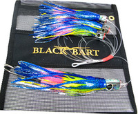 Black Bart Tuna Candy Daisy Chain - Blue Yellow/Rainbow