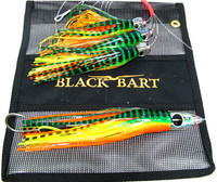 Black Bart Tuna Candy Daisy Chain - Green Tiger/Orange Tiger (2039)