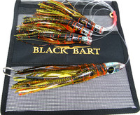 Black Bart El Squid Jr Daisy Chain - Brown-Gold Orange/Gold Dot (2044)