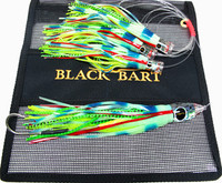 Black Bart El Squid Jr Daisy Chain - Glow / Green Chartreuse Dot (2046)