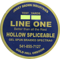 Jerry Brown Line One Hollow Spliceable Spectra - 2500 yds
