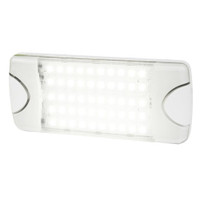 Hella Marine DuraLED 50 Low Profile Interior\/Exterior Lamp - Wide White Spreader Beam