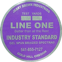 Jerry Brown Line One Solid Spectra - 1200 yds