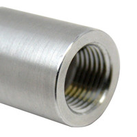 "Rupp 3\/4"" x 12"" Threaded Aluminum Pipe"