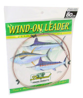 Diamond Fluorocarbon Wind On Leader 80Lb 25' Clear