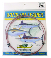 Diamond Monofilament Wind On Leader X-Hard 220Lb 25' Clear White