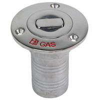 "Whitecap Bluewater Push Up Deck Fill - 2"" Hose - Gas"