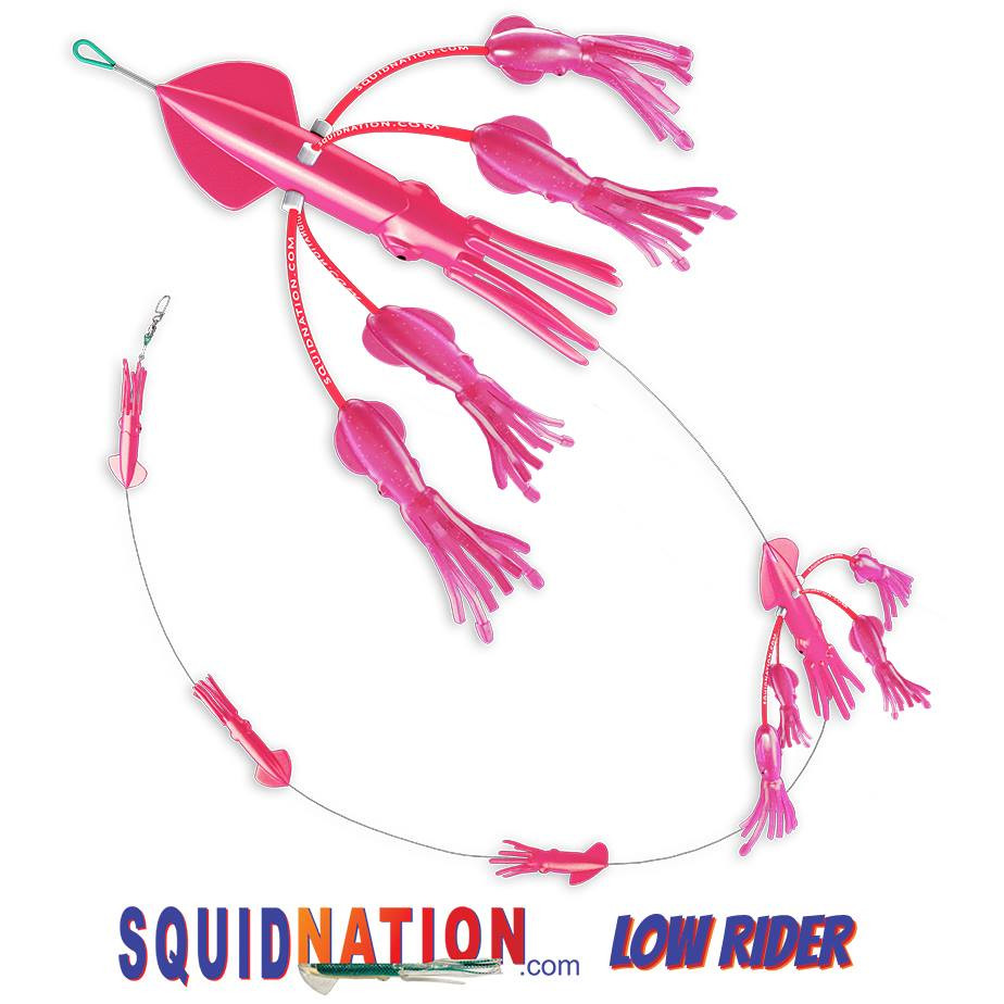 Squidnation Low Rider Flippy Floppy Chain Killer Pink