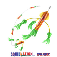 Squidnation Low Rider Flippy Floppy Chain Rasta Green