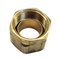 Uflex Brass Compression Nut w\/Sleeve #61CA-6