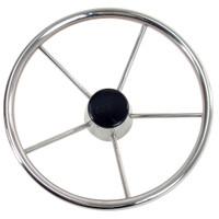 "Whitecap Destroyer Steering Wheel - 13-1\/2"" Diameter"