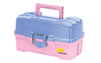 Plano Two Tray Tackle Box - Periwinkle/Pink (620292)