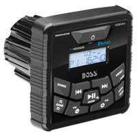 Boss Audio MGR450B In-Dash Marine Gauge Digital Media Bluetooth Audio Streaming AM\/FM Receiver