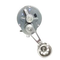 Seigler Reel OS Smoke w/ Silver Accents RH