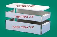"Max Bait Tray Standard Set 19"" x 9.25"""