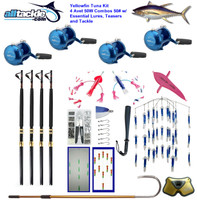 Alltackle Tuna Package - 4 x Avet 50W Combos w/ Essential Lures