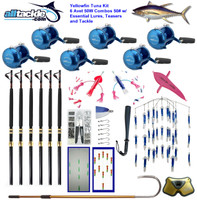 Alltackle Tuna Package - 6 x Avet 50W Combos w/ Essential Lures