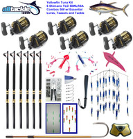 Alltackle Tuna Package - 6 x TLD 50 Combos w/ Essential Lures