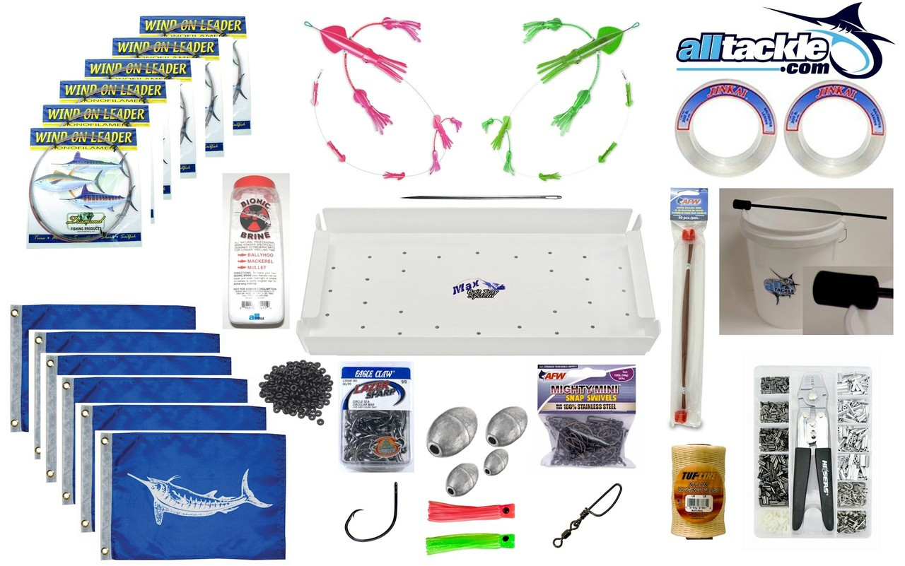Alltackle White Marlin Tackle Rigging Kit
