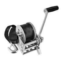 Fulton 900lb Single Speed Winch w\/12 Strap f\/Personal Watercraft