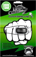 Line Cutterz Fishing Line Cutting Ring - Black