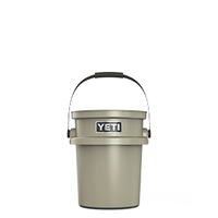 Yeti Loadout Bucket  5 Gallons - Desert Tan