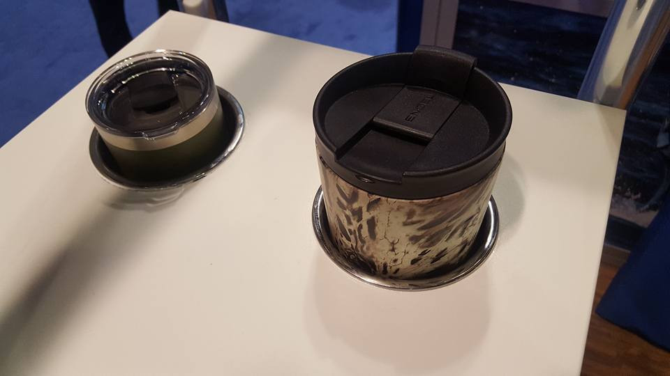Tigress Recessed Cup Holder for Yeti Tumblers