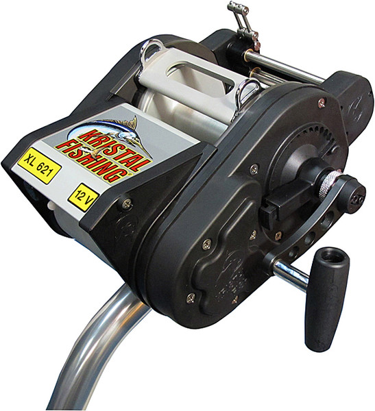 Kristal Electric Reel XL621-24V Manual Override Levelwind