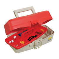 Plano Take Me Fishing Tackle Kit Box - Red\/Beige