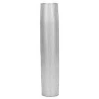 "TACO Aluminum Ribbed Table Pedestal - 2-3\/8"" O.D. - 27-1\/2"" Length"
