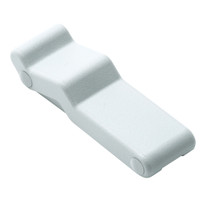 Southco Concealed Soft Draw Latch - White Rubber