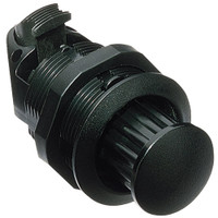 Southco Pop-Out Knob Latch w\/Fixed Grip Threaded Body - Black Plastic