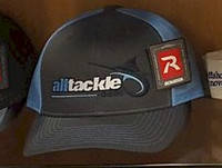Alltackle Fishing Hat - Logo - Black & Gray