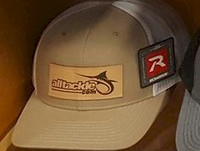 Alltackle Fishing Hat - Patch - Tan