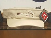 Alltackle Visor - Logo - Tan