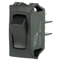 BEP Curved SPDT Mini Rocker Switch - 12V - ON\/ON