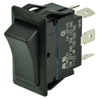 BEP DPDT Rocker Switch - 12V\/24V - ON\/OFF\/ON