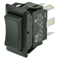 BEP DPDT Rocker Switch - 12V\/24V - (ON)\/OFF\/(ON)
