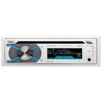 Boss Audio MR508UABW Single-DIN CD\/USB\/SD\/MP3\/WMA\/AM\/FM Receiver w\/Bluetooth